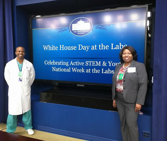 White House Day at the Labs